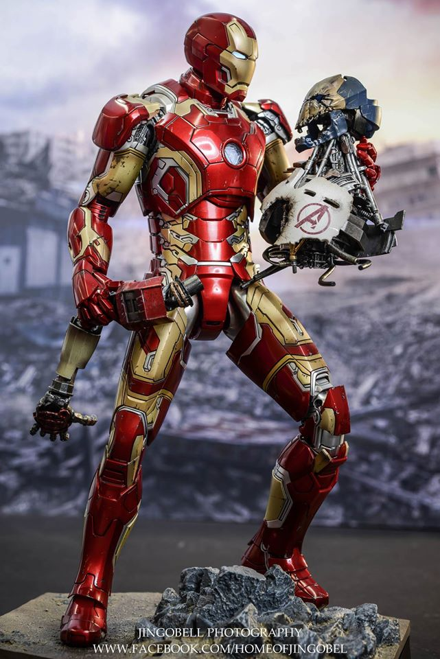 1 Toy For Ages 1 To 7 : Avengers age of ultron scale hot toys collectible