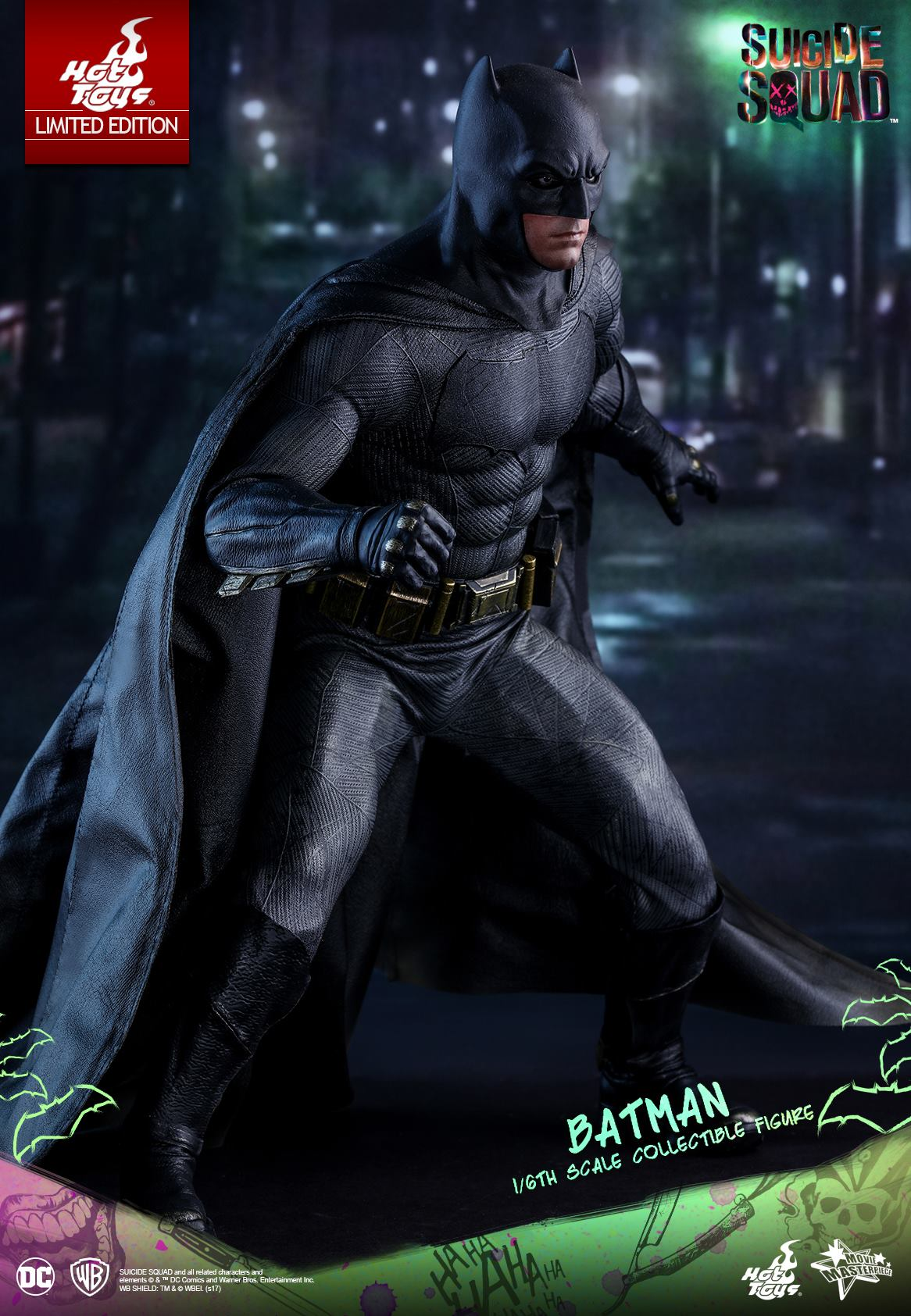 hot toys suicide squad 1 6th scale batman collectible figure mms409 ultimate toys singapore. Black Bedroom Furniture Sets. Home Design Ideas