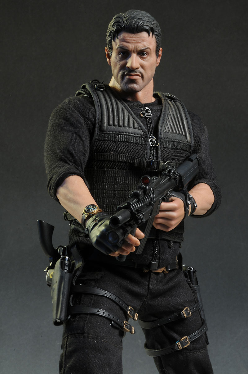 1//6 Scale Hot Toys The Expendables 2 Barney Ross Tactical Vest