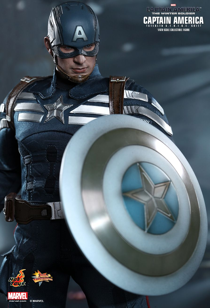Hot Toys Marvel Steve Rogers 1//6 Scale Figure Stand