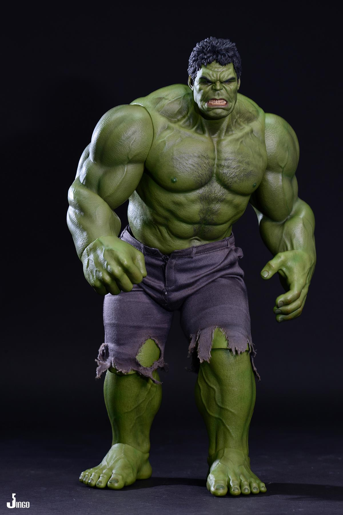 Hot Toys Mms186 The Avengers Hulk 16 Scale Action Figure